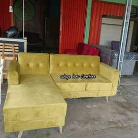 sofa L sambung kekinian