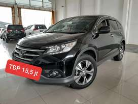 Honda CRV 2.4 AT 2014 Hitam, KM 43 ribuan, GENAP