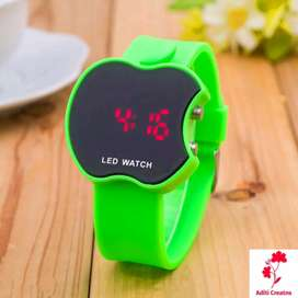 FREE HOME DELIVERY-Apple-shaped Stylish High Quality Digital LED watch