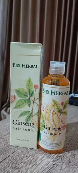 Bio Herbal 1 set Shampoo + Hair Tonic Gingseng