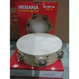 Rebana Playwood double ring 20cm AB King Pro.