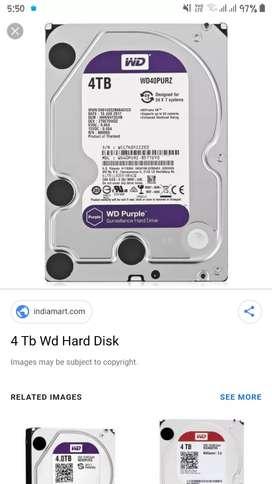 4 tb internal hard disk for sale
