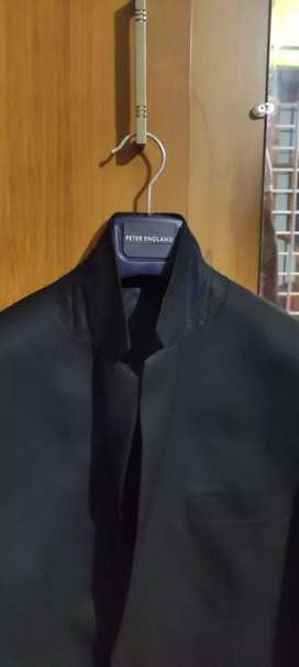 Peter England wedding coat and neck bow 1days used only