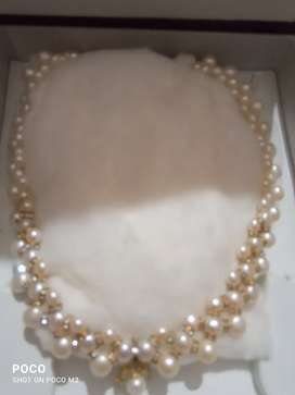 Real pearls necklace...