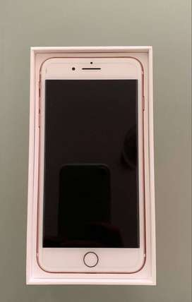 7 + in rose gold in mint condition