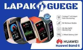 [RESMI1THN] HUAWEI BAND 6 AMOLED SPO2 heartrate smartband watch BARU