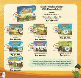Buku Cerita Anak Kisah Kisah Sahabat Cilik Rasulullah