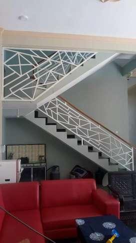 Pagar, kanopi, tralis, balkon, ralling tangga dll. Murah termurahh.