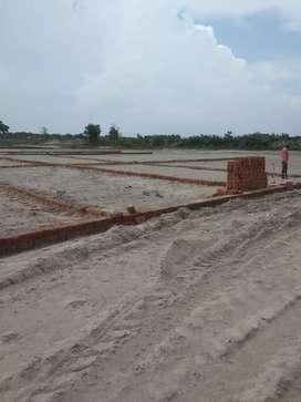 Ganga bairaj Atal Awas new ploting in kanpur 400000 100syard