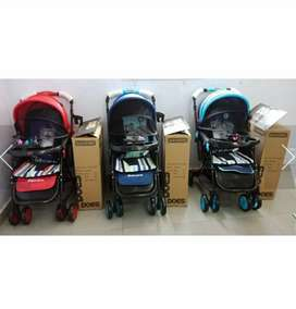 Stroller baby does bandre (2 arah + ayun) sale