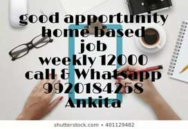 Good opportunity part time work