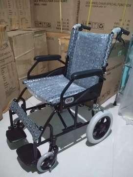 Kursi roda travelling gea full hitam