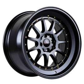 HSR-Edo-JD110-Ring-17x85-95-H8x100-1143-ET35-25-Semi-Matte-Black-Gold-