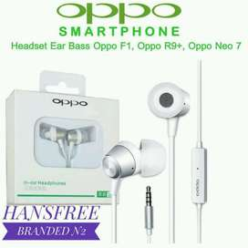 Headset Oppo real bass