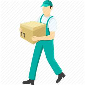 delivery boy for pharmaceutical company
