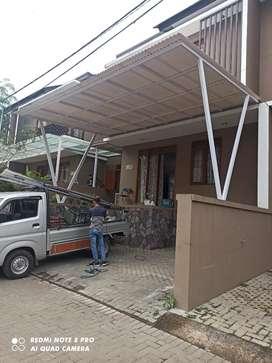 Menerima pemasangan Canopy alderon spandek bengkel las sr #21