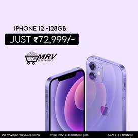 NEW IPHONE 12 128GB WITH 1 YEAR WARRANTY
