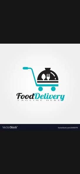 Food delivery boy