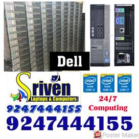 Dell Tower CPU 3rd Gen i5 @ 10999, i7 at 16999: Sriven Laptops and Com