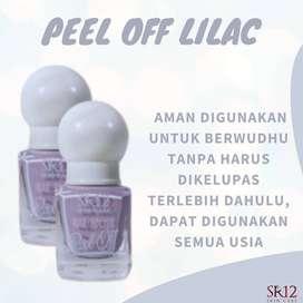 Bisa COD! Nail Polish Kutek Peel Off Halal Varian Lilac SR12