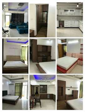 Omaxe height 3bhk semi furnished flat for family,on 2 nd floor