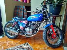 Suzuki Thunder custom
