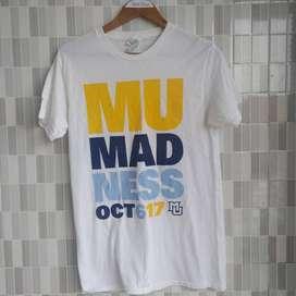 Kaos Putih Motif MU Mandess SIze L second