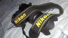 DSLR D60 CAMRA WITH LENSE AND BATTRY AND CHARGER AND NECK STRIP A