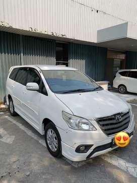 Innova G Luxury 2014 Putih, AT, STNK Panjang