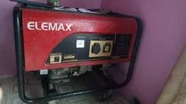 Genset 5.8 kva. Honda Elemax SH 6500 EX. original made in japan