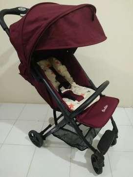 Dijual Cepat Stroller Coco Latte Iconic + Kondisi Bagus