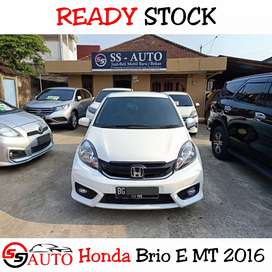 Honda Brio E MT 2016 NewModel OrisiniL Mulus Service Rutin