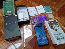 Infinix Zero 8 Black 8/128gb Resmi Helio G90T Layar 90hz Joss