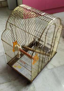 Bird Stand and cage