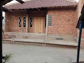 Jual rumah + kontrakan 4 pintu