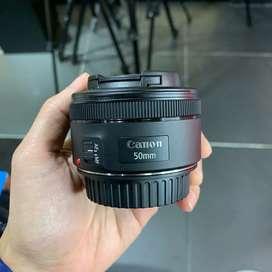 Canon 50mm F1.8 prime lens