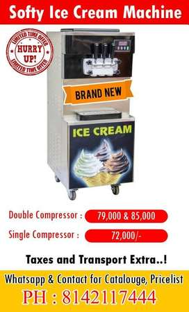 Indias Best Soft Serve Softy Ice Cream Machine