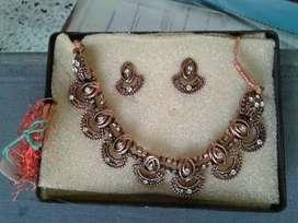 Copper set with diamond Small