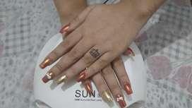 Nail extension art