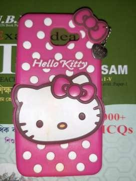 Samsung j7 max hello kitty back cover