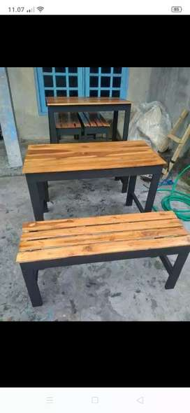 Meja dan kursi warkop murah