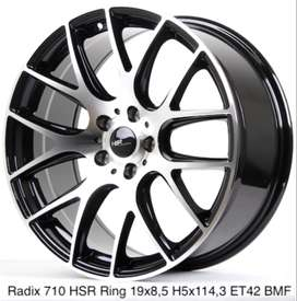 Velg racing RADIX 710 HSR R19X85 H5X114,3 ET42 BMF