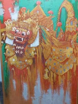 Lukisan BARONG HIJAU