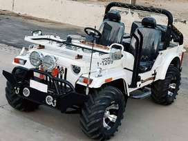 willy jeeps modified in new look