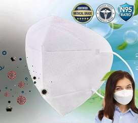 N95 MASK, face shield