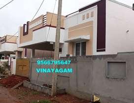 BEST PRICE ,BRAND NEW VILLA for sale at VADAVALLI--Vinayagam--42 Lakhs