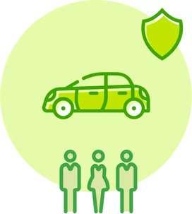Sanitized car rental at Rs. 13 per km onwards