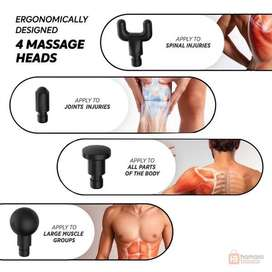 4 Heads Massage Gun with free home delivery all Pakistan