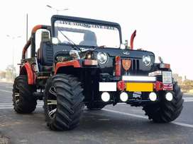 Open hinter Modified jeeps