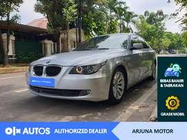 [OLXAutos] BMW 520i 2008 2.0 A/T Bensin Silver #Arjuna Motor